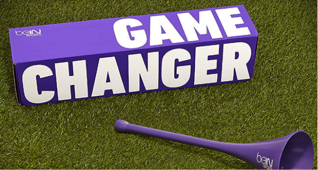 A Vuvuzela That Changes Channels on BeIN Sports