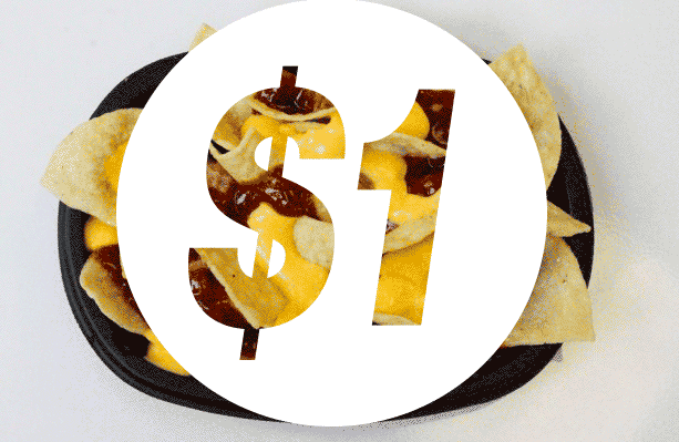Taco Bell $1 cravings menu