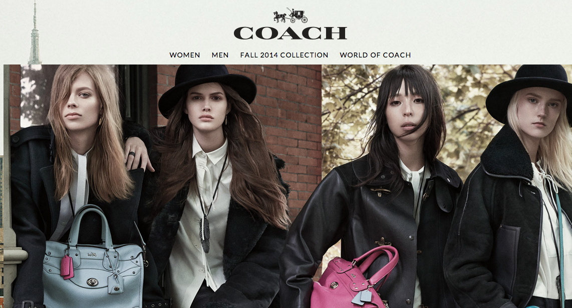 Coach has hit up hip celebs to push their new line