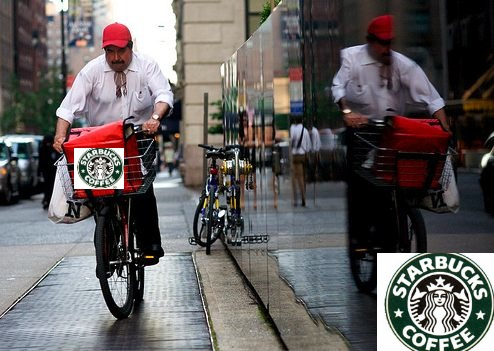 Starbucks delivery