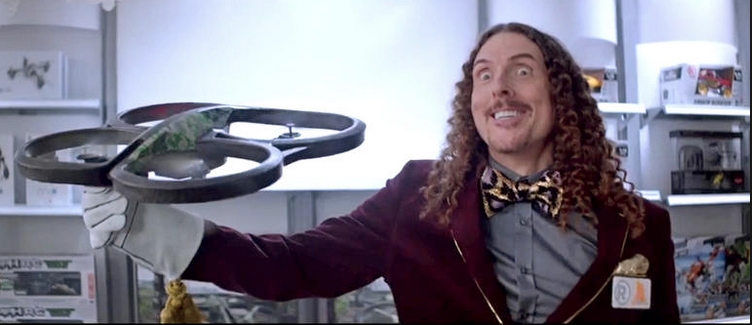 Radio Shack is expressing its strange side, enlisting Weird Al Yankovic as the company's new spokesman.